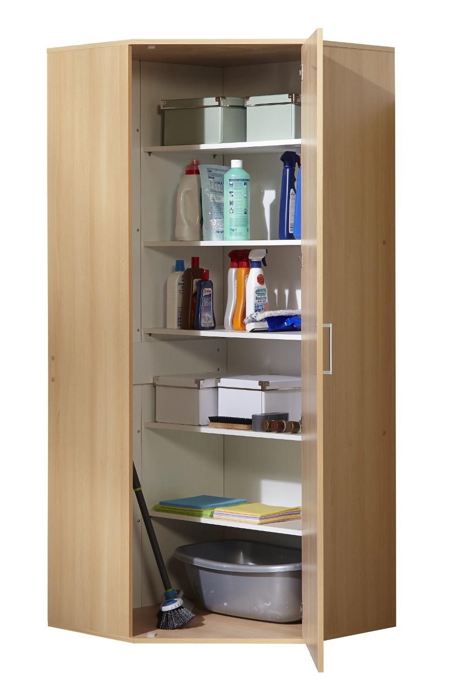 neu eckschrank haushaltsschrank aufbewahrungsschrank. Black Bedroom Furniture Sets. Home Design Ideas