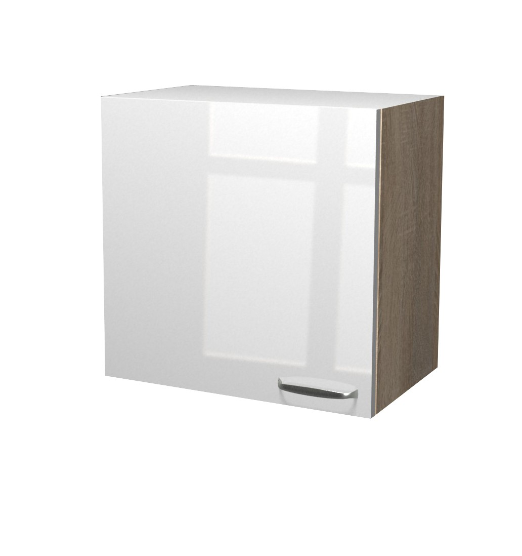 neu k chen h ngeschrank venedig k chenschrank oberschrank 60cm weiss sonoma ebay. Black Bedroom Furniture Sets. Home Design Ideas