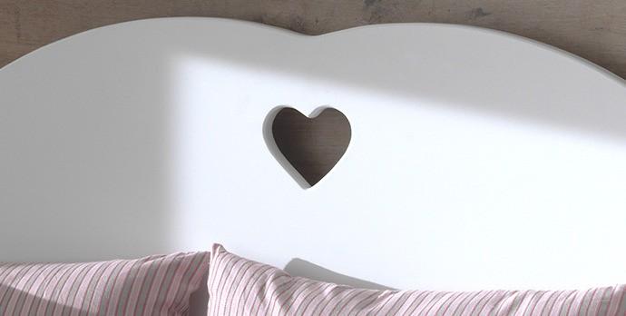 neu kojenbett amori kinderbett liegefl che 90 x 200 cm mit bettschublade weiss ebay. Black Bedroom Furniture Sets. Home Design Ideas