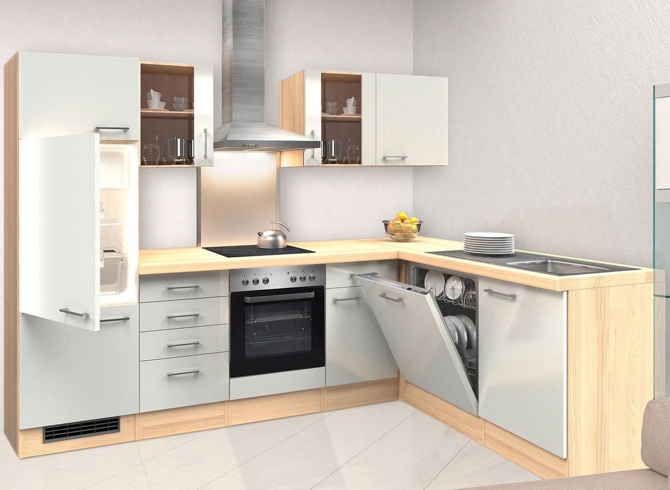 eck unterschrank florenz k chen eckschrank k chenschrank 1 t r 110 cm weiss ebay. Black Bedroom Furniture Sets. Home Design Ideas