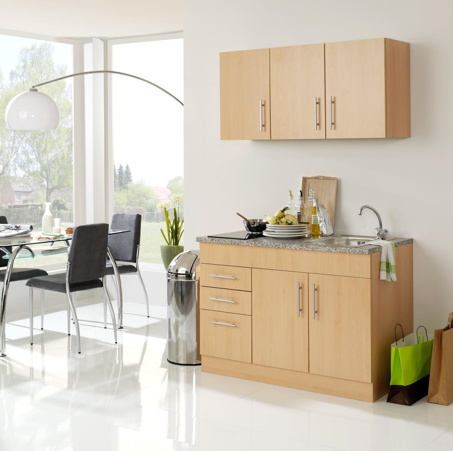 neu singlek che berlin mit glaskeramikkochfeld minik che 120cm b rok che buche porta westfalica. Black Bedroom Furniture Sets. Home Design Ideas