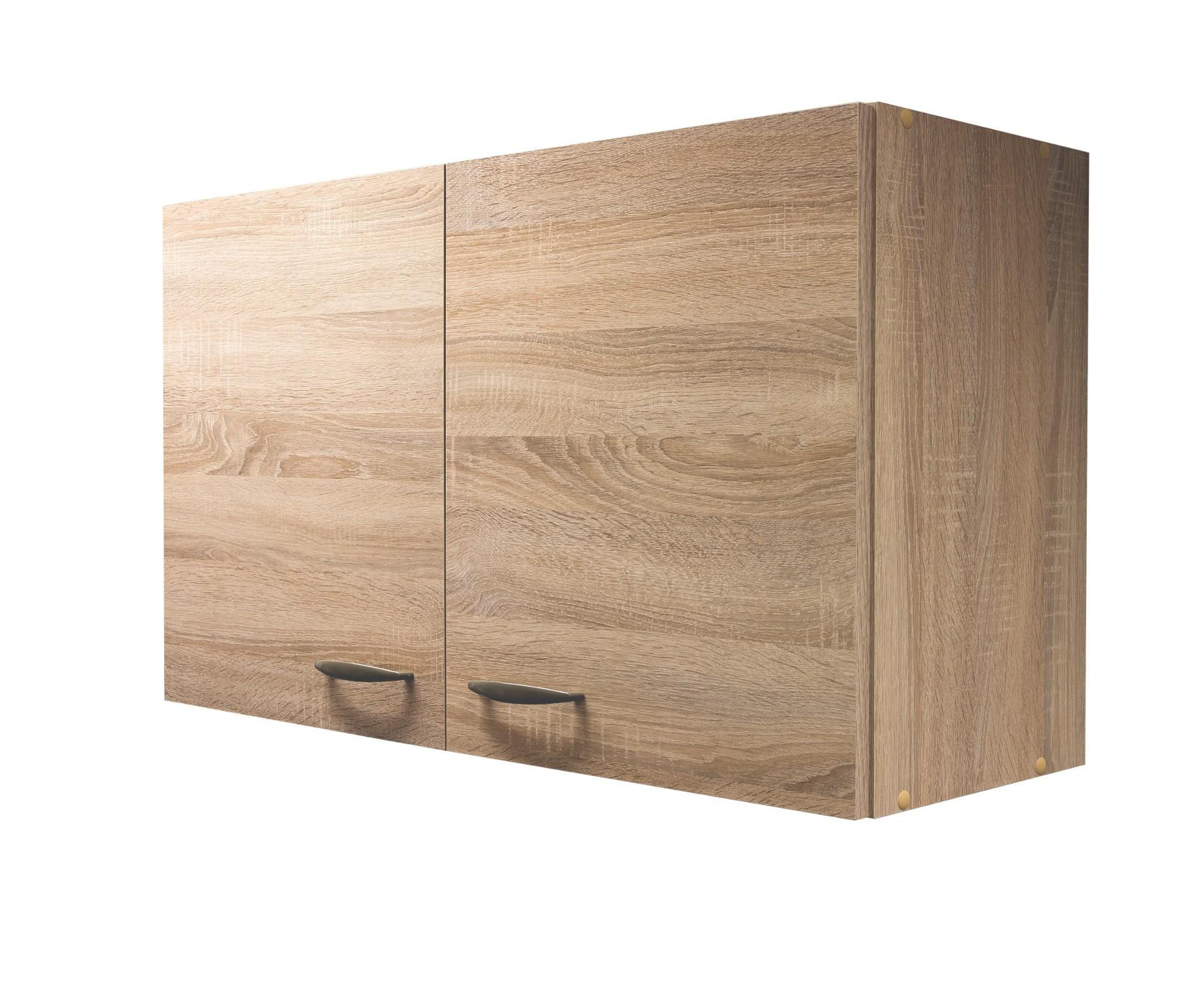 k chen h ngeschrank herne k chenschrank oberschrank 100 cm eiche sonoma ebay. Black Bedroom Furniture Sets. Home Design Ideas