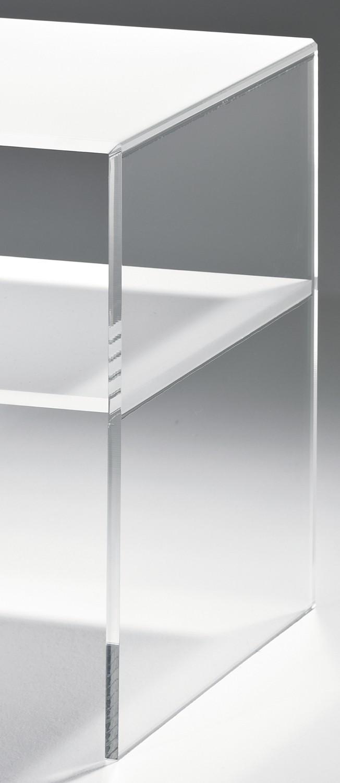 Acryl beistelltisch vegas tisch aus acrylglas 40 cm for Beistelltisch acryl
