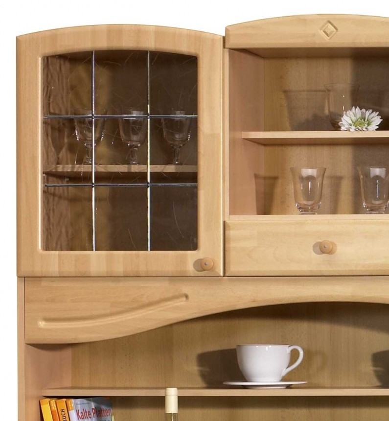 neu k chen buffet raute k chenbuffet buffetschr nke 150cm landhaus buche ebay. Black Bedroom Furniture Sets. Home Design Ideas