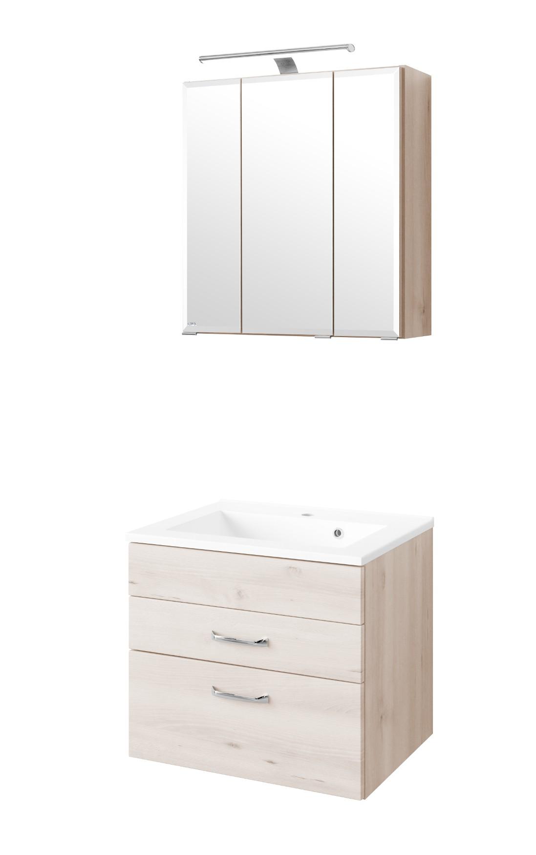 badezimmer set fontana waschtisch mit becken. Black Bedroom Furniture Sets. Home Design Ideas