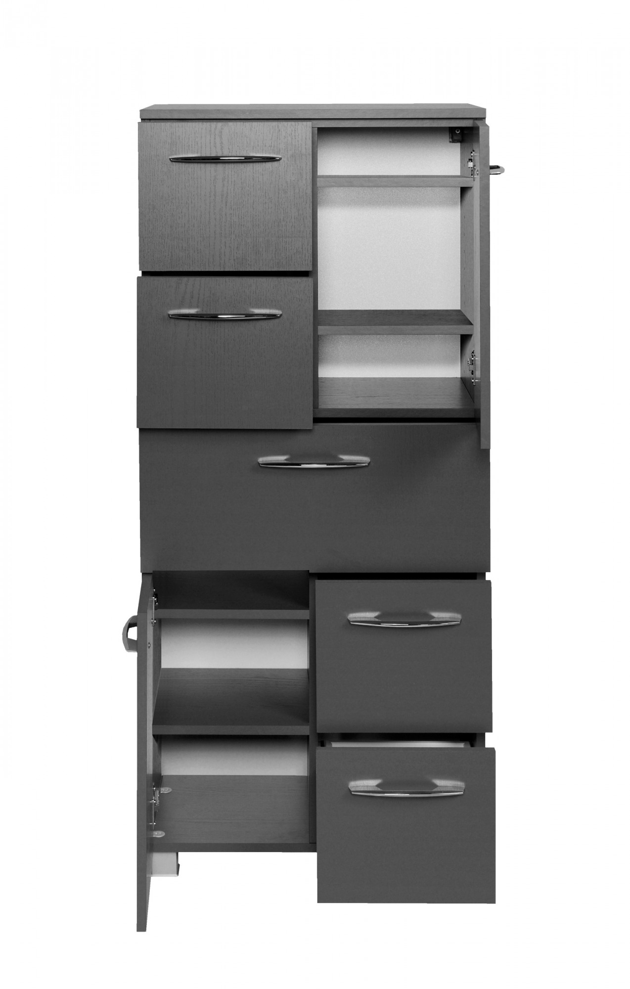 Badezimmer midischrank portofino highboard badm bel for Badezimmer highboard