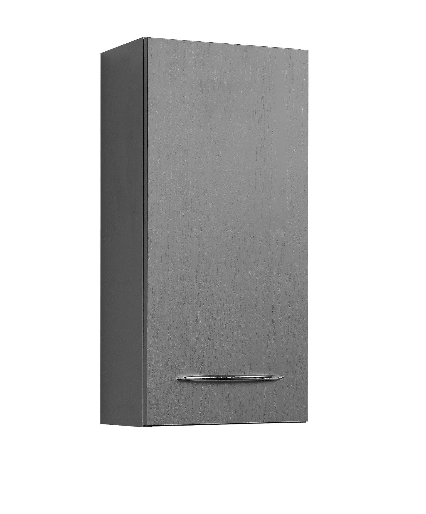 Badezimmer h ngeschrank portofino badschrank badezimmerschrank 30cm graphit grau ebay - Badezimmerschrank grau ...