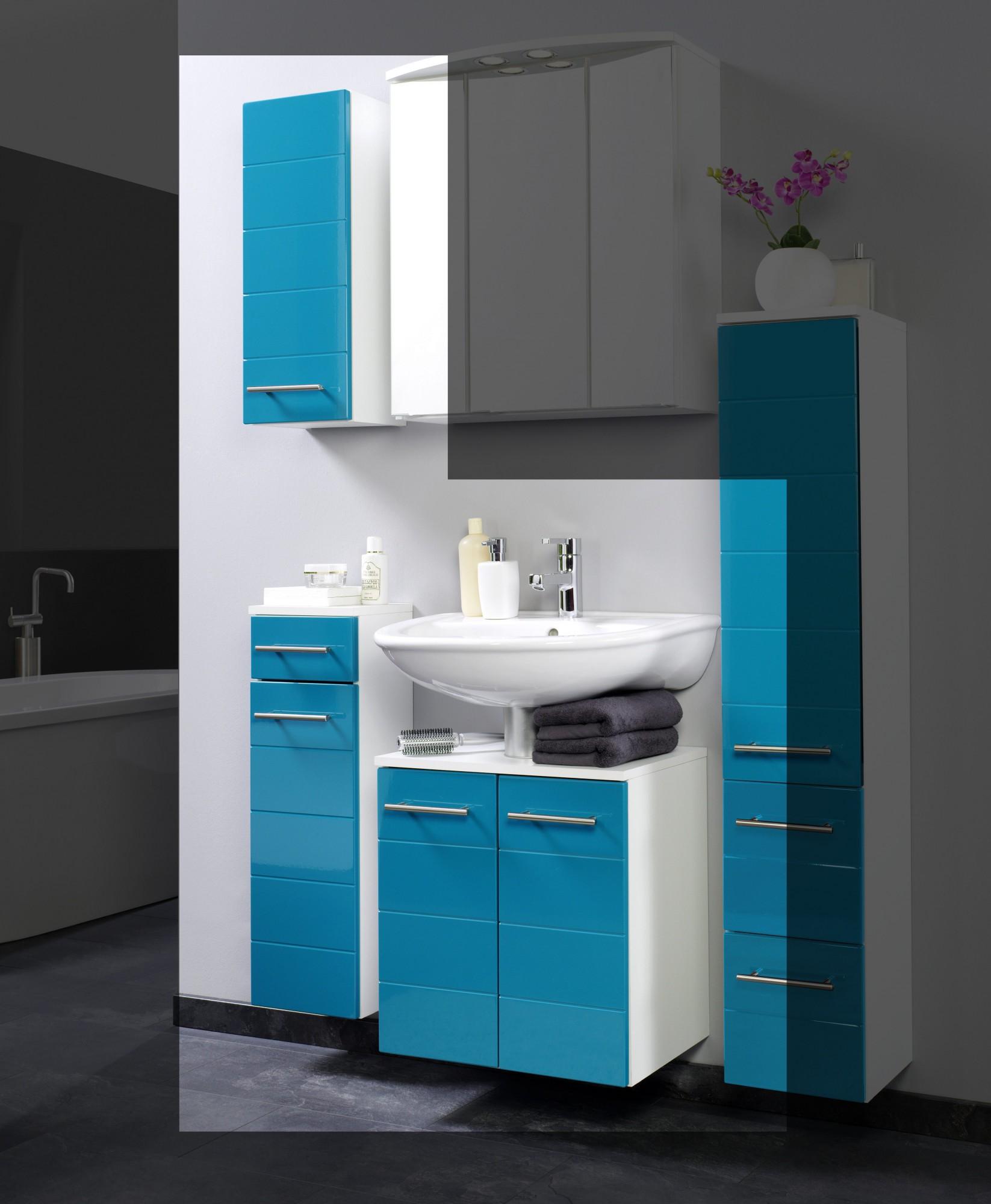 neu badm belset rimini 3 teilig 75 cm t rkis ebay. Black Bedroom Furniture Sets. Home Design Ideas