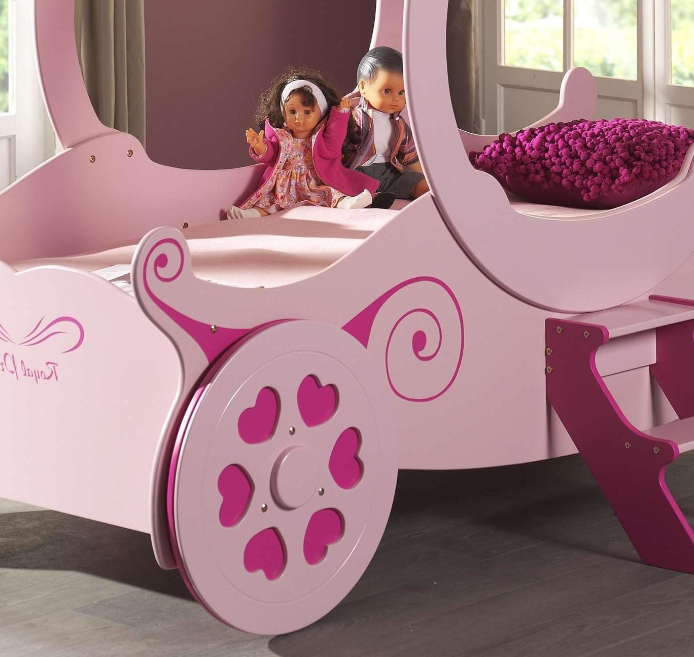 neu kutschenbett royal princess kinderbett m dchenbett. Black Bedroom Furniture Sets. Home Design Ideas