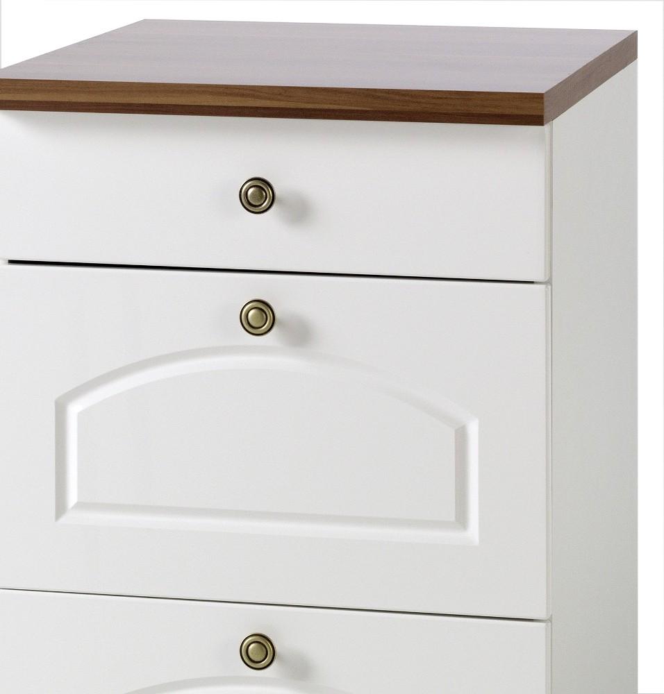 k chen unterschrank boston 3 schubladen 50 cm breit hochglanz wei k che boston weiss. Black Bedroom Furniture Sets. Home Design Ideas