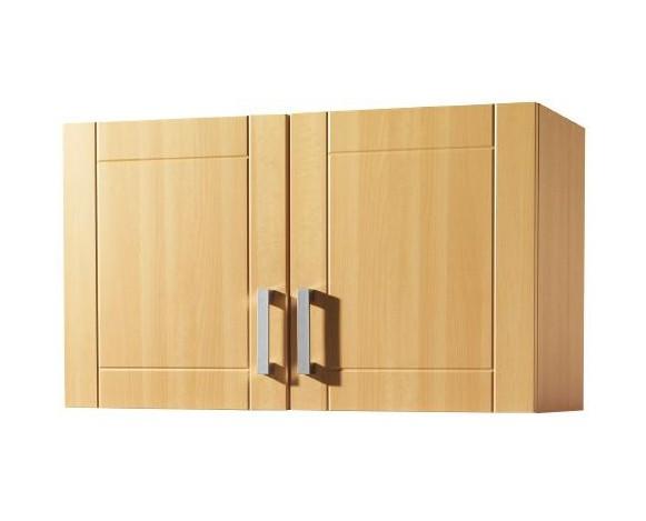 neu k chen h ngeschrank varel k chenschrank oberschrank 100cm buche ebay. Black Bedroom Furniture Sets. Home Design Ideas