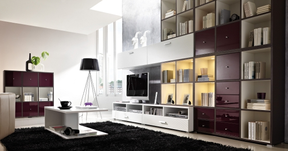 m bel g tv w nde und wohnw nde einrichtungsideen. Black Bedroom Furniture Sets. Home Design Ideas
