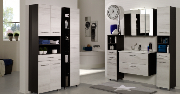 m bel g portofino badm bel badezimmer ideen. Black Bedroom Furniture Sets. Home Design Ideas