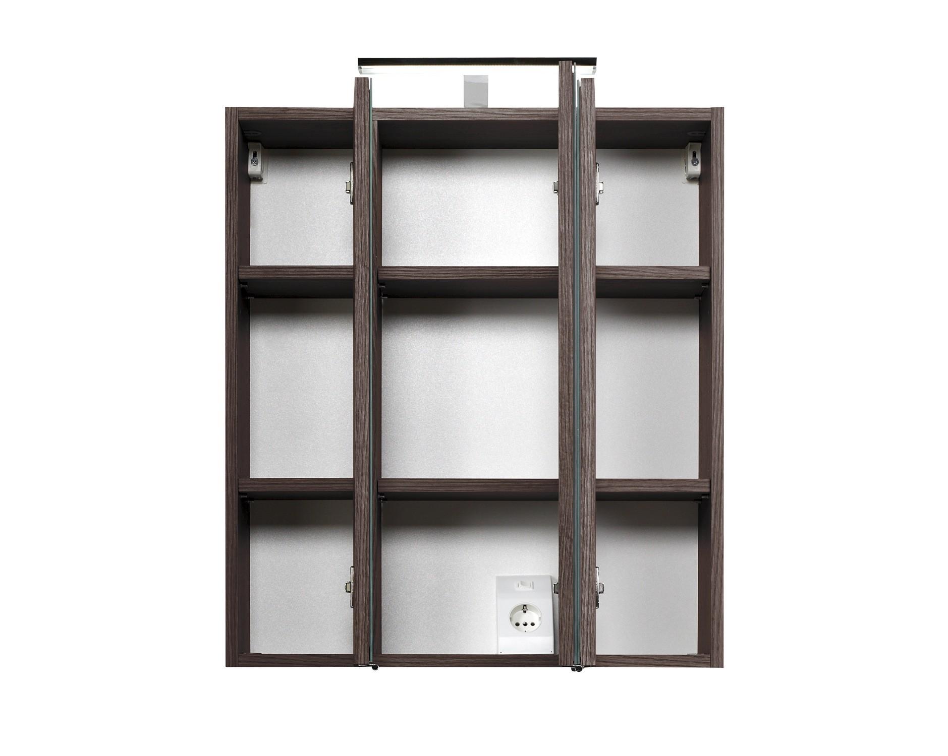 Badezimmer-Spiegelschrank-PHOENIX-60cm-eichedunkel-0 Wunderschöne Spiegelschrank Bad 60 Cm Dekorationen