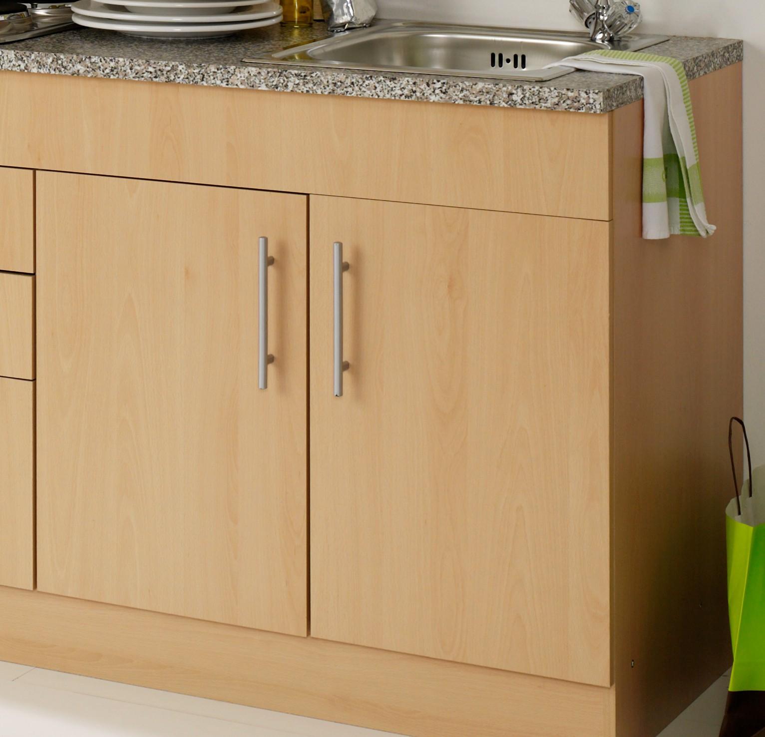 Singlekuche berlin breite 210 cm buche kuche singlekuchen for Singleküchen