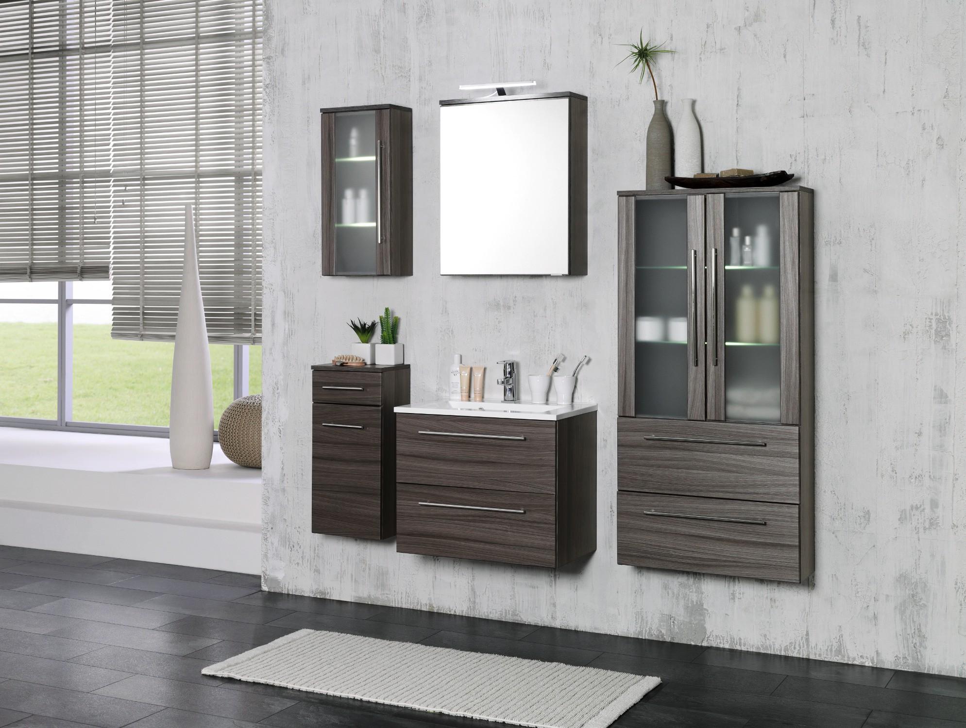 Badezimmer waschtisch set  Badmöbel-Set MAILAND - mit Waschtisch - 4-teilig - 120 cm breit ...