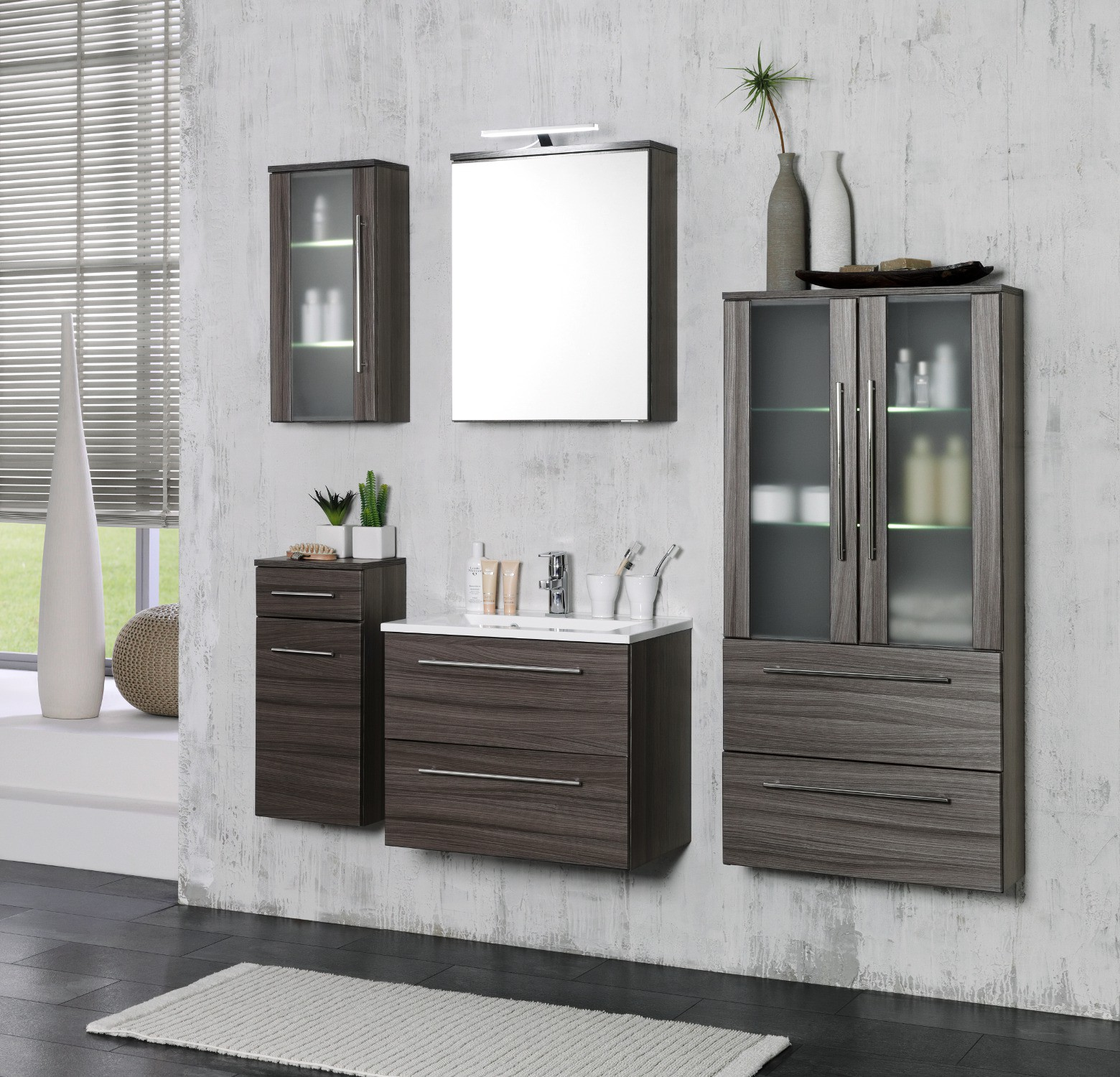 badm bel set eiche dunkel reuniecollegenoetsele. Black Bedroom Furniture Sets. Home Design Ideas