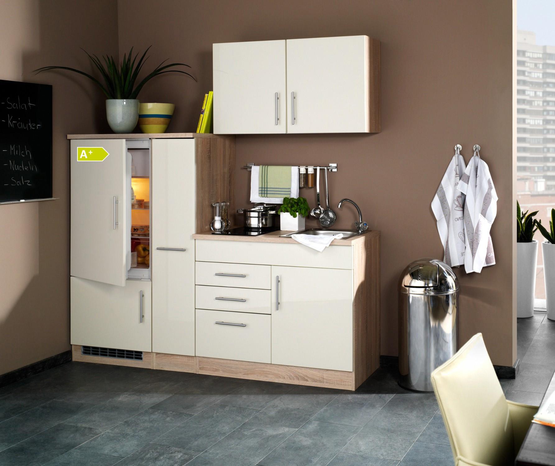 singlek che berlin glaskeramik kochfeld und k hlschrank. Black Bedroom Furniture Sets. Home Design Ideas