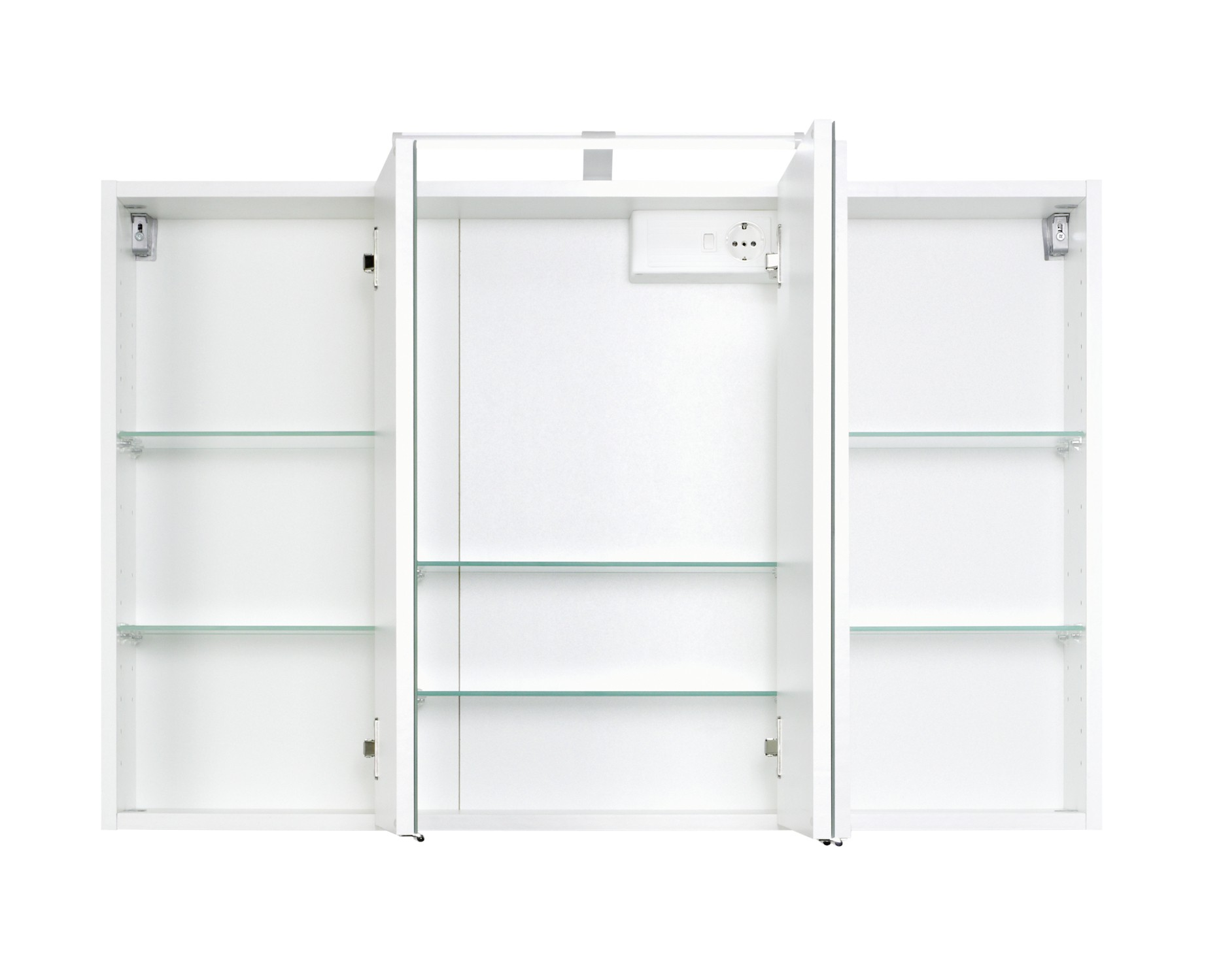 Badmöbel-Set FLORIDA - mit Waschtisch und Spiegelschrank - 7 ... | {Badmöbel weiss stehend 82}
