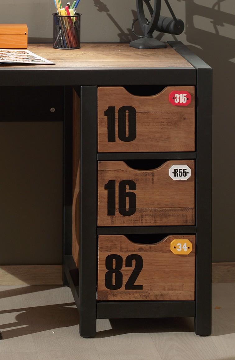 jugendzimmer alex komplett mit schreibtisch und regal kinder jugendzimmer alex. Black Bedroom Furniture Sets. Home Design Ideas