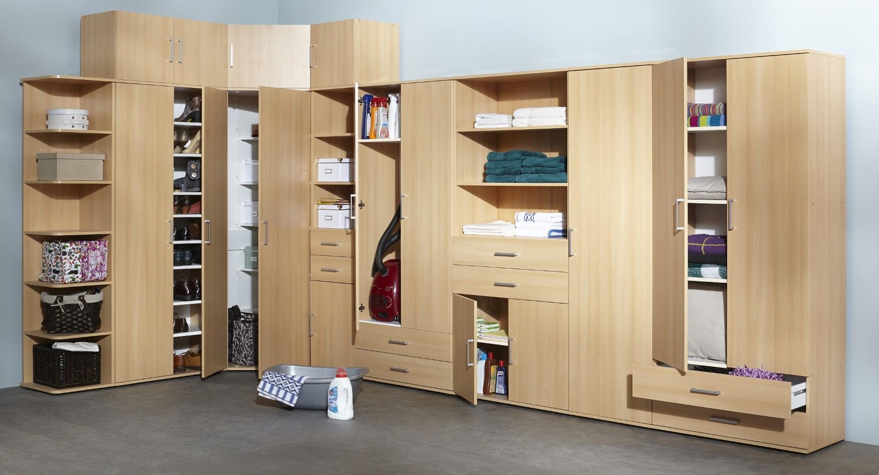 aufsatzschrank ronny mehrzweckschrank system 2 t rig buche wohnen mehrzweckschr nke. Black Bedroom Furniture Sets. Home Design Ideas