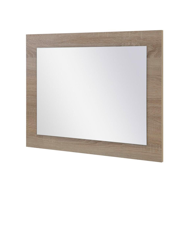 Spiegel lake 70 cm breit eiche sonoma wohnen diele for Spiegel 20 cm breit