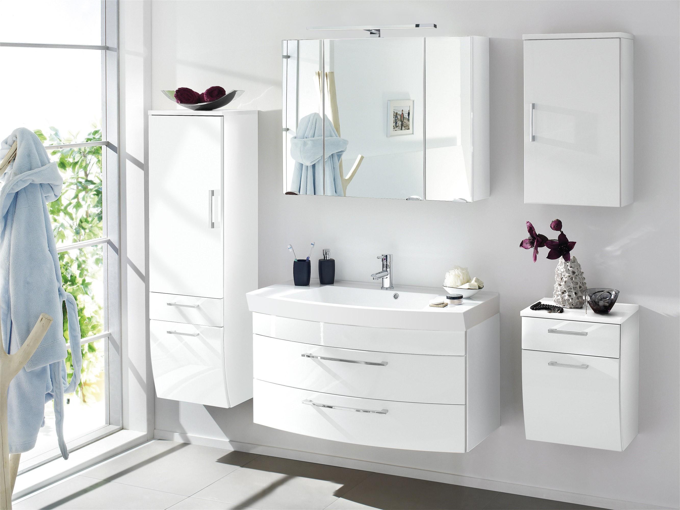 bad h ngeschrank rima 1 t rig 40 cm breit wei bad rima. Black Bedroom Furniture Sets. Home Design Ideas