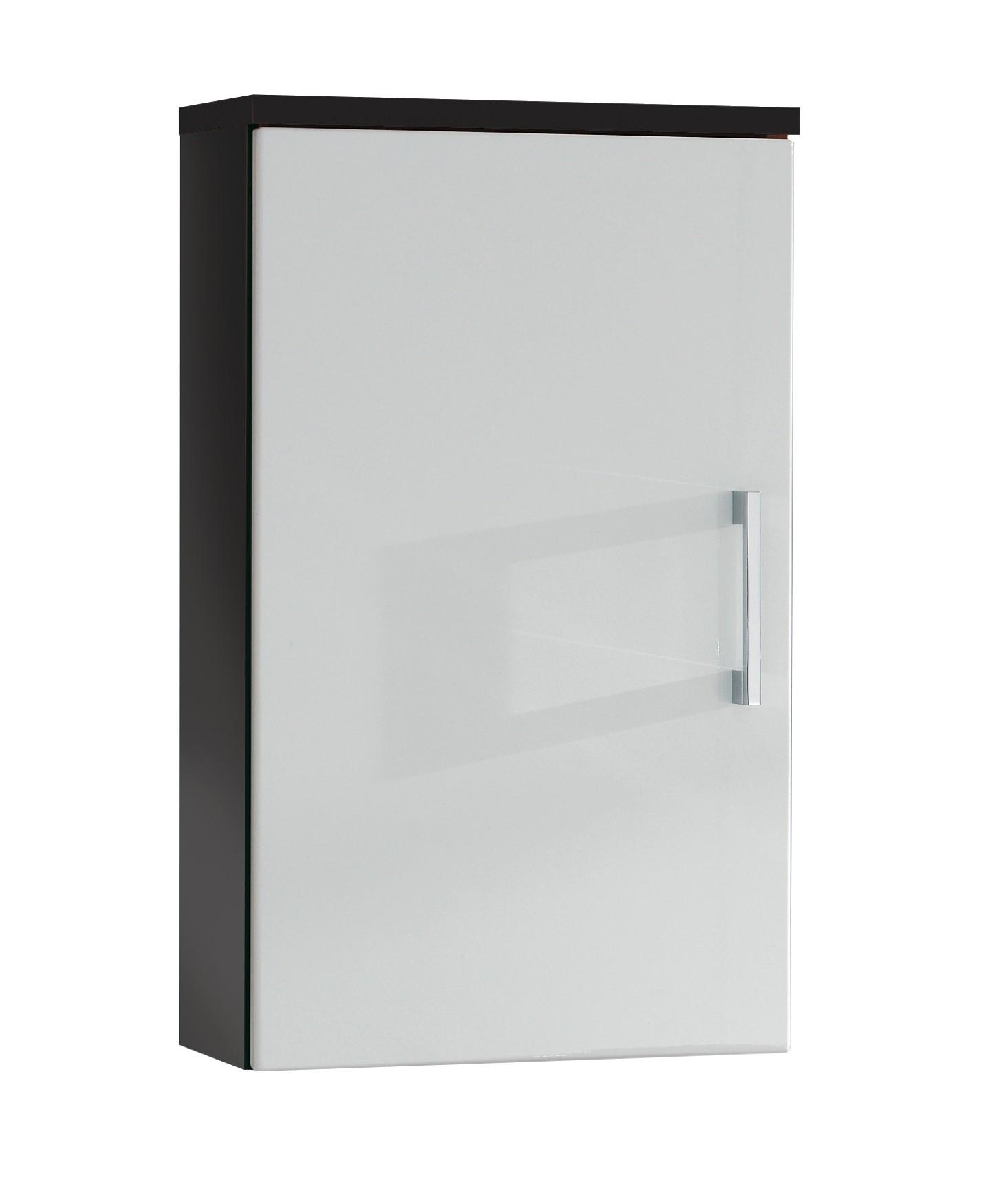 bad h ngeschrank rima 1 t rig 40 cm breit wei grau bad rima. Black Bedroom Furniture Sets. Home Design Ideas