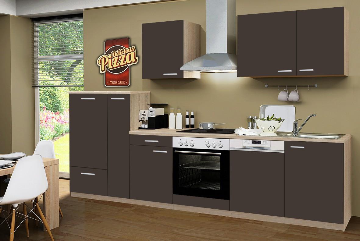 Küchenzeile GÖTEBORG Mit Geschirrspüler und