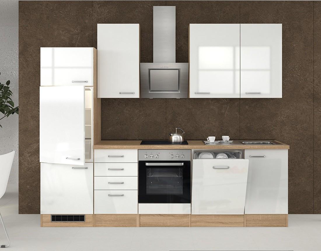 neu k chen h ngeschrank venedig glash ngeschrank 50cm weiss sonoma ebay. Black Bedroom Furniture Sets. Home Design Ideas