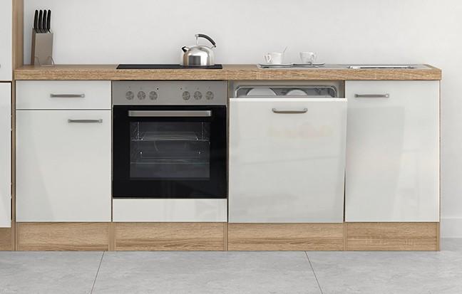k chenzeile venedig k che mit e ger ten 16 teilig breite 310 cm wei sonoma k che. Black Bedroom Furniture Sets. Home Design Ideas