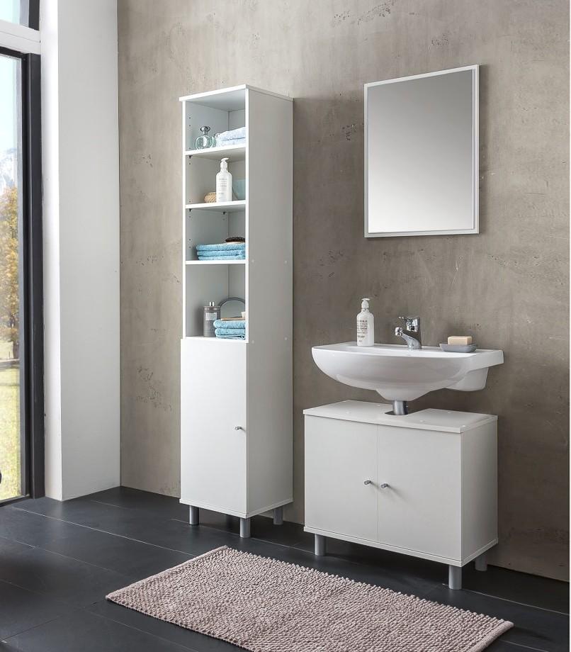 badm bel set lindau vario 3 3 teilig 95 cm breit wei bad badm belsets. Black Bedroom Furniture Sets. Home Design Ideas