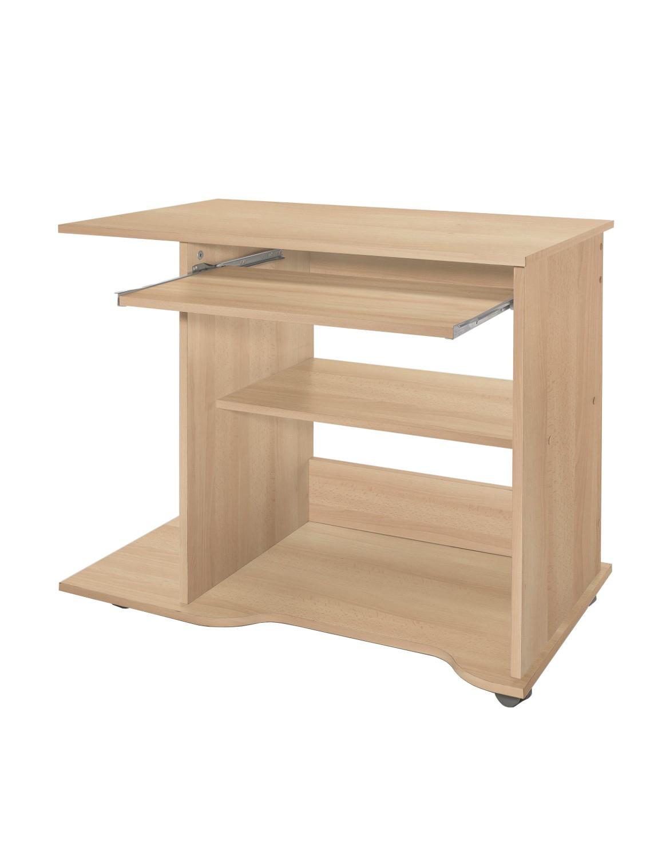 pc schreibtisch tom 80 cm breite buche wohnen office. Black Bedroom Furniture Sets. Home Design Ideas