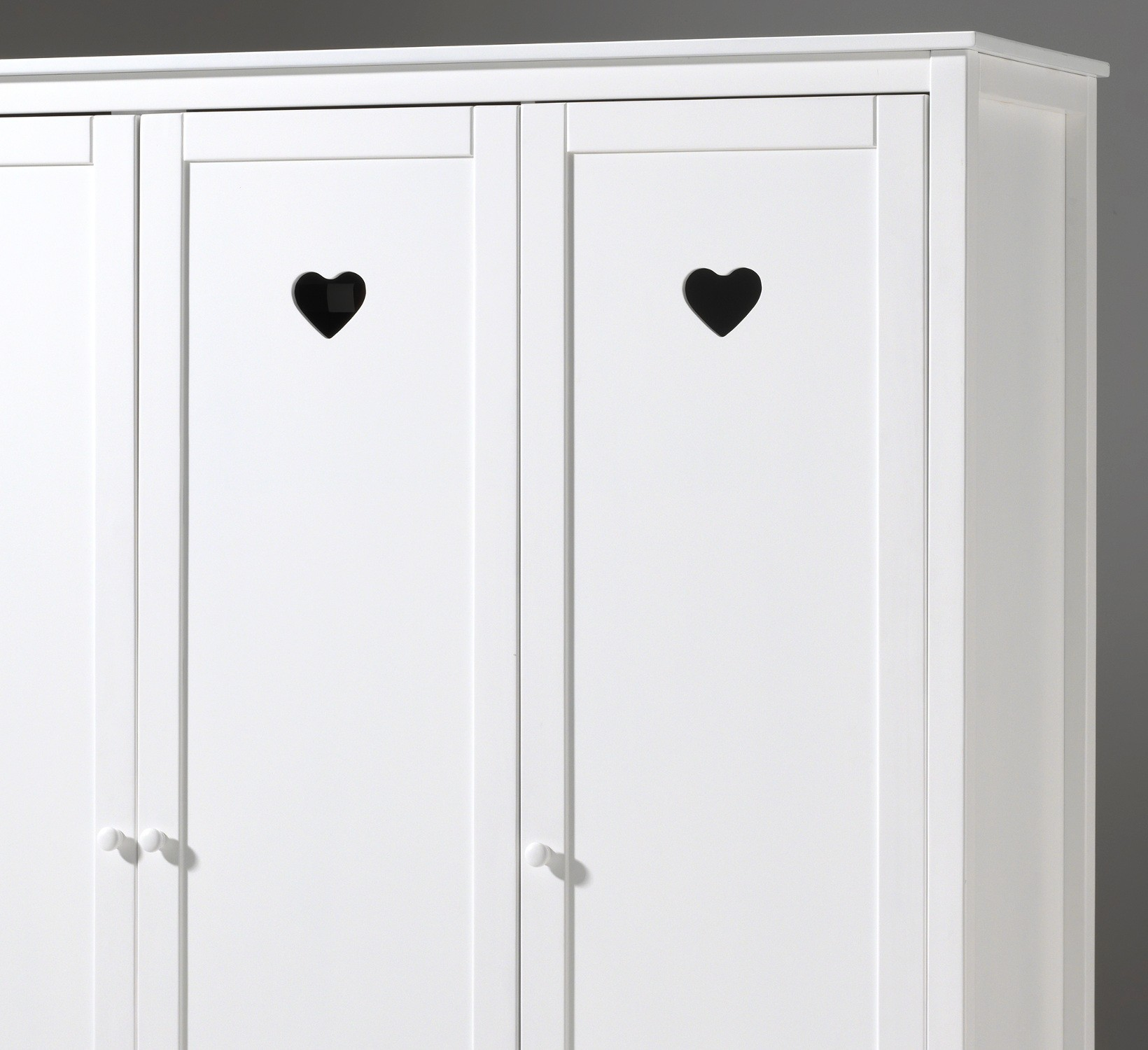 kleiderschrank amori 3 t rig wei kinder. Black Bedroom Furniture Sets. Home Design Ideas