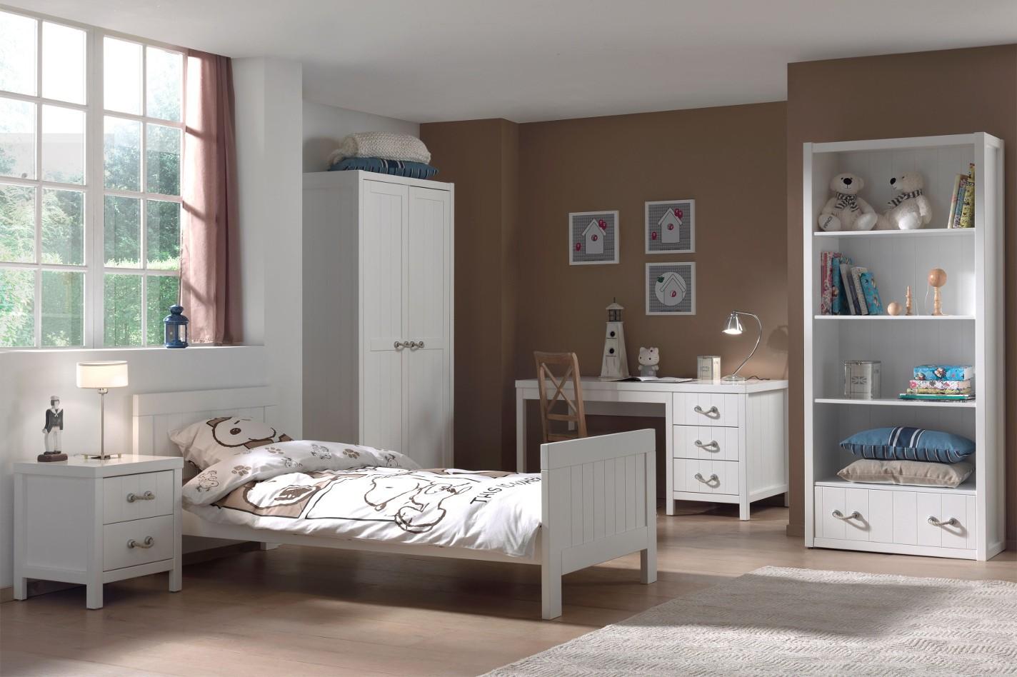 jugendzimmer lewis - komplett mit einzelbett, kleiderschrank 2