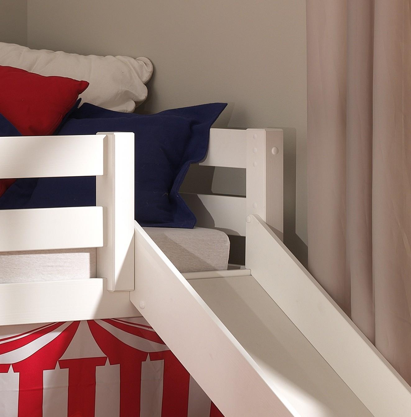 """Spielbett pino """"zirkus"""" mit rutsche   liegefläche 90 x 200 cm ..."""