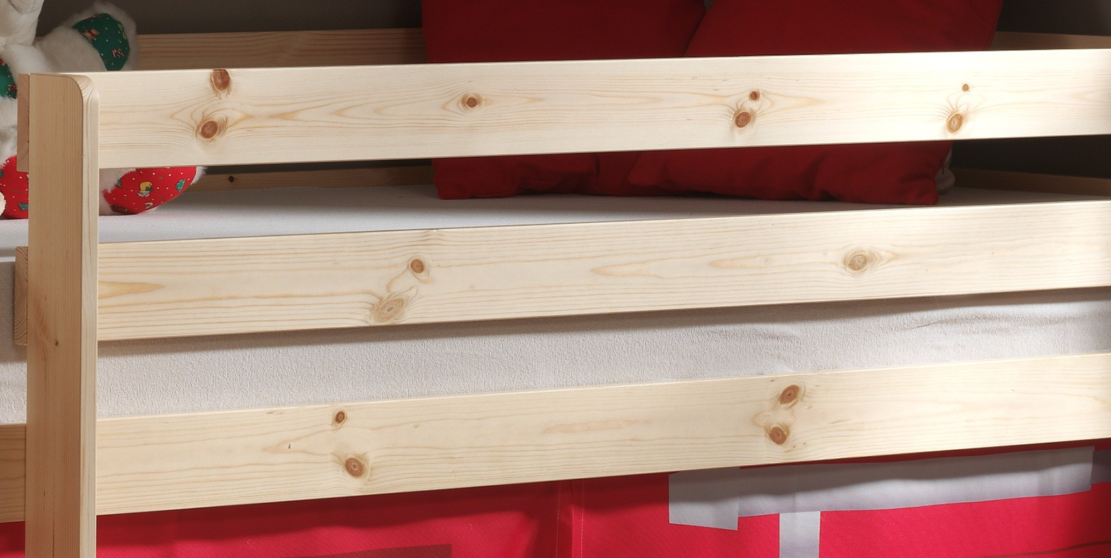 neu spielbett pino feuerwehr kinderbett hochbett. Black Bedroom Furniture Sets. Home Design Ideas