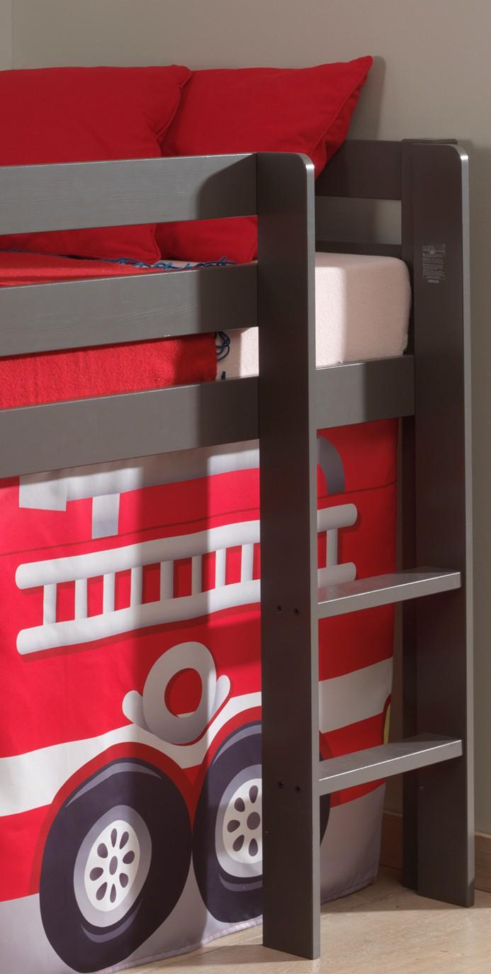 spielbett pino feuerwehr liegefl che 90 x 200 cm. Black Bedroom Furniture Sets. Home Design Ideas