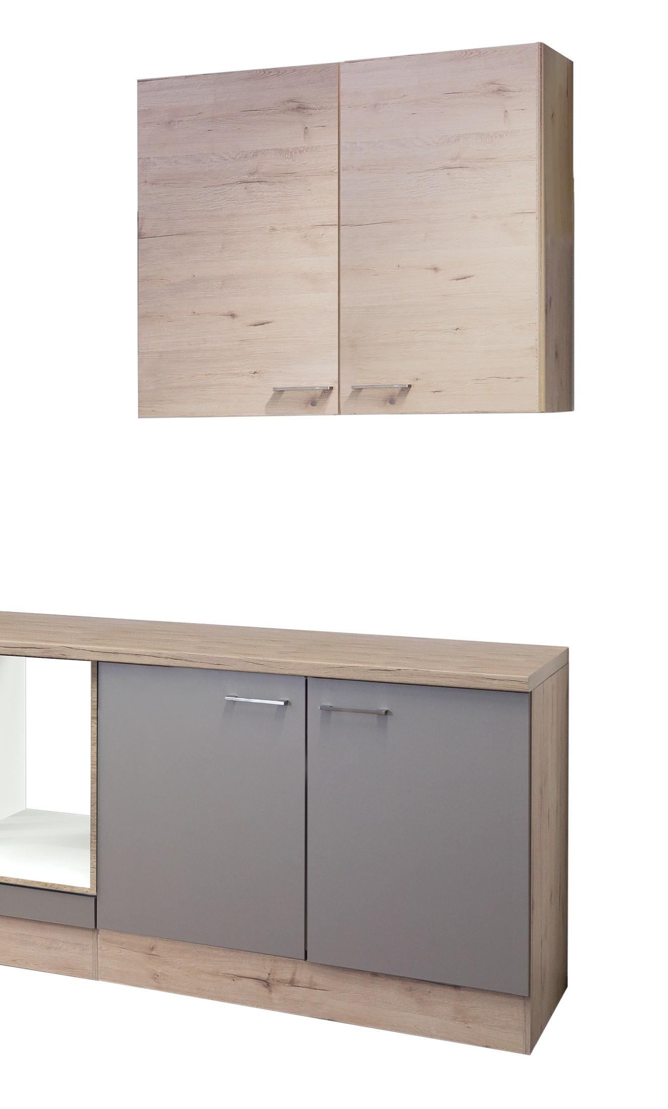 k chenzeile riva k chen leerblock 8 teilig breite 270 cm bronze metallic k che k chenzeilen. Black Bedroom Furniture Sets. Home Design Ideas