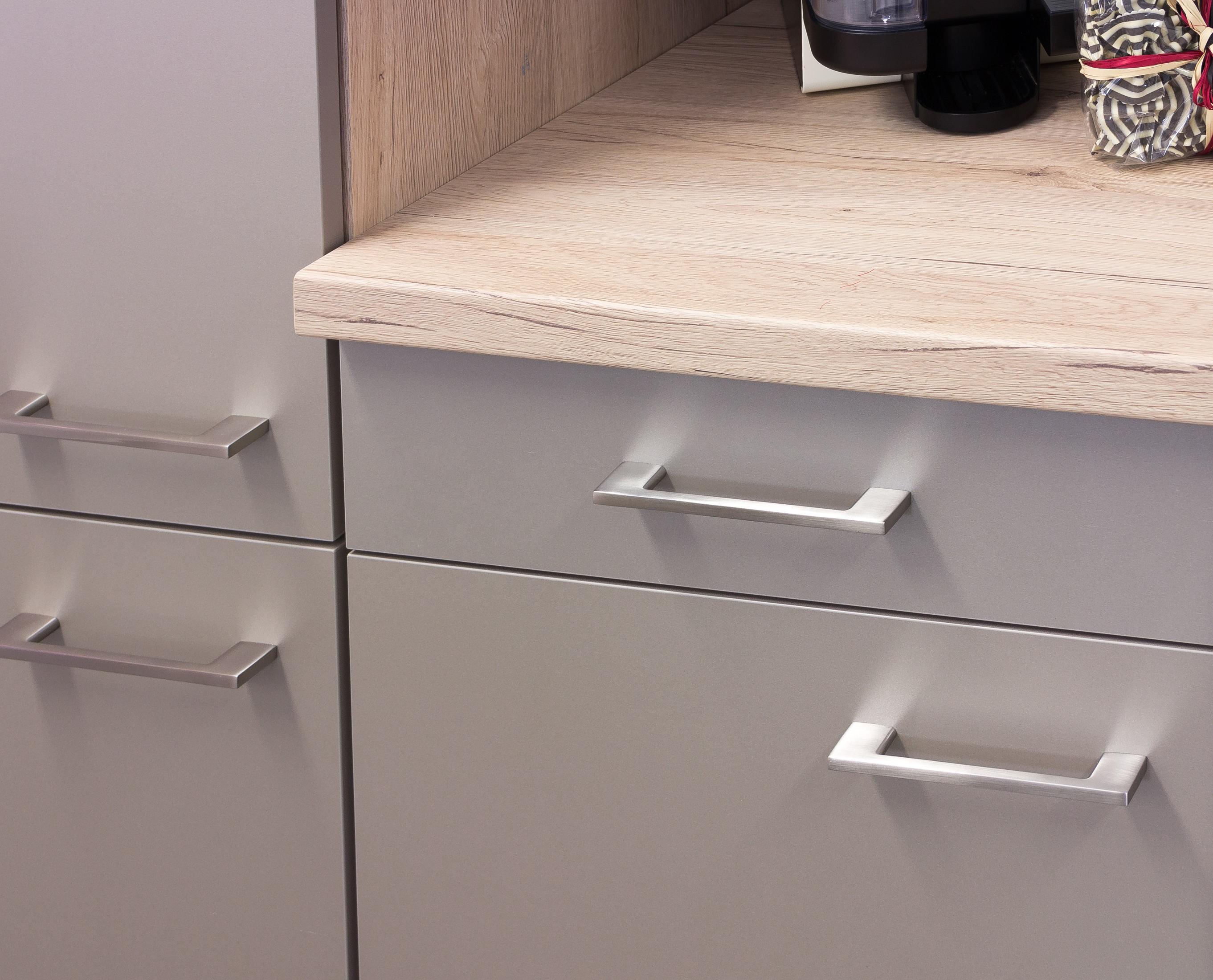 eckküche riva - l-küche ohne e-geräte - breite 280 x 170 cm