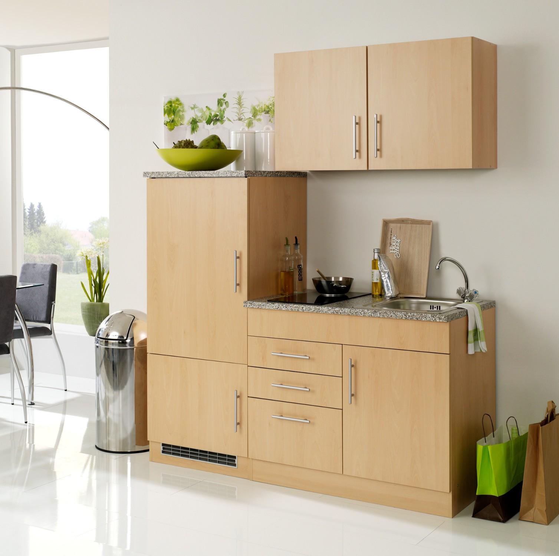 singlek che berlin glaskeramik kochfeld breite 160 cm buche k che singlek chen. Black Bedroom Furniture Sets. Home Design Ideas