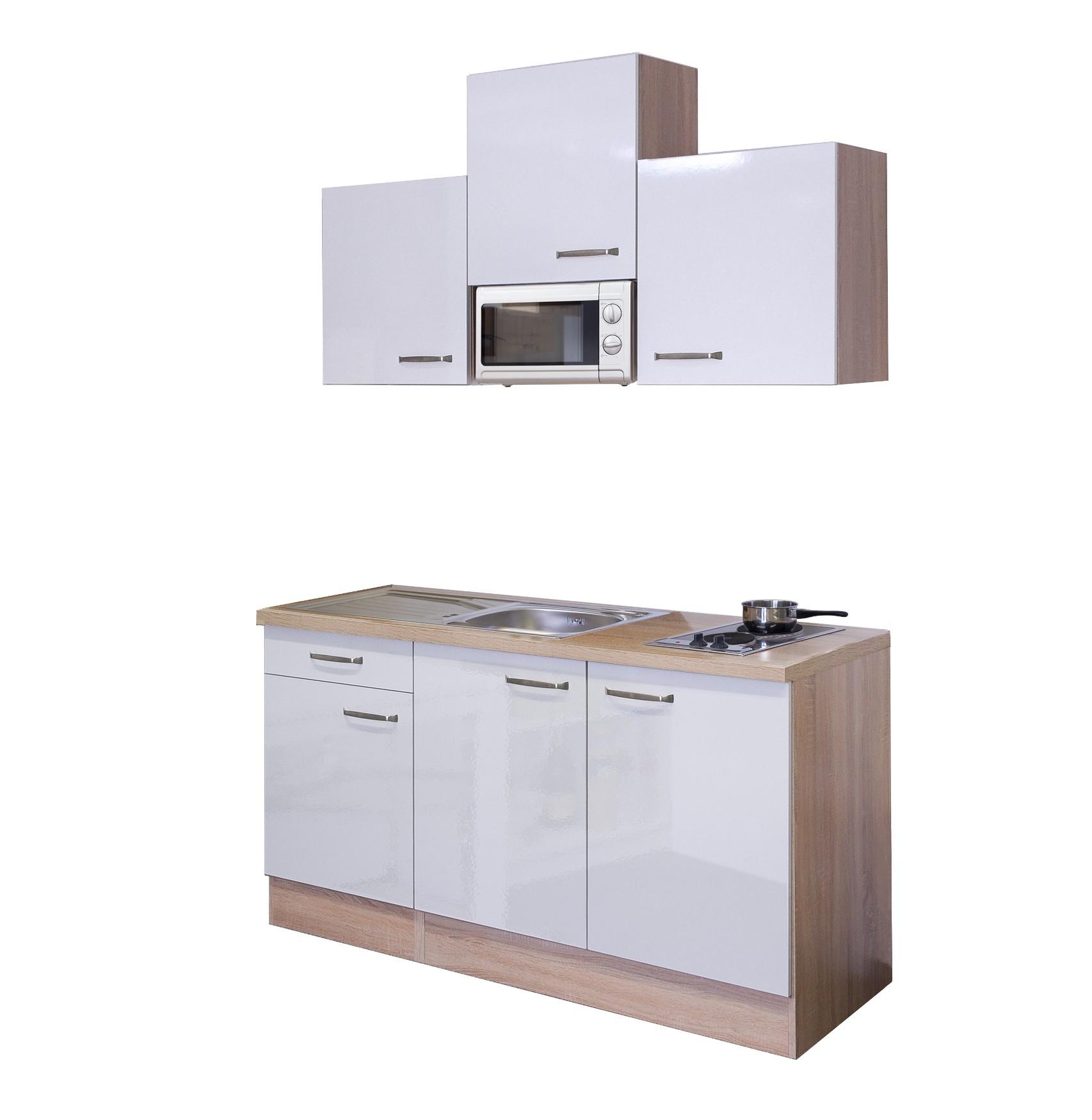 Hervorragend Singleküche VENEDIG - Breite 150 cm - Weiß Küche Singleküchen KY91