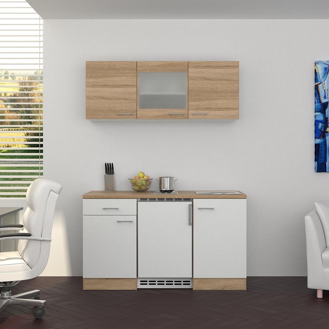 singlek che venedig 9 teilig 1 glash nger breite 150 cm wei k che singlek chen. Black Bedroom Furniture Sets. Home Design Ideas