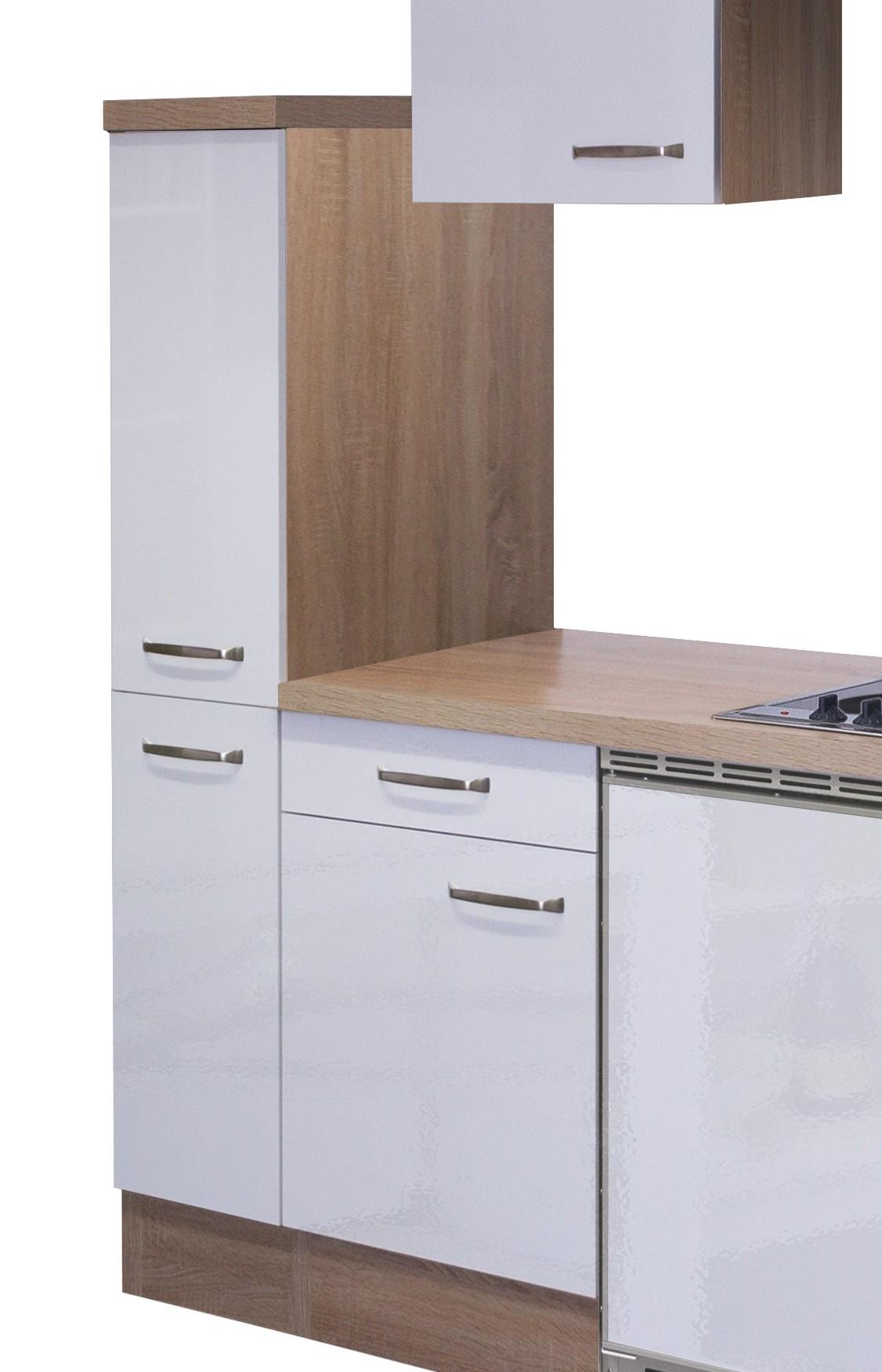 singlek che venedig 10 teilig 180 cm breit wei k che singlek chen. Black Bedroom Furniture Sets. Home Design Ideas