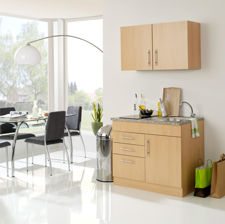 singlek che berlin glaskeramik kochfeld breite 100 cm buche k che singlek chen. Black Bedroom Furniture Sets. Home Design Ideas