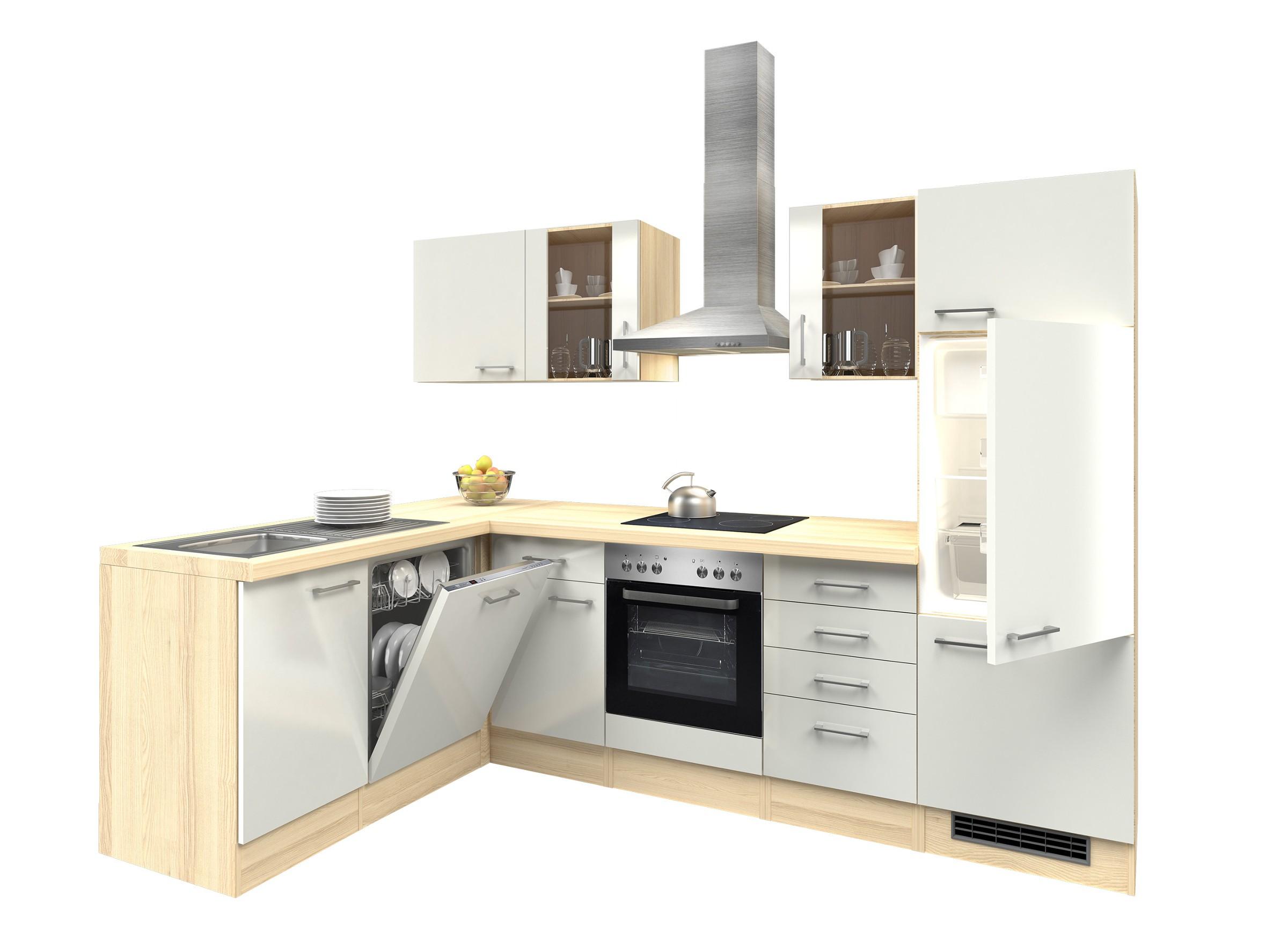 Eckküche Mit Elektrogeräten Kreatives Haus Design