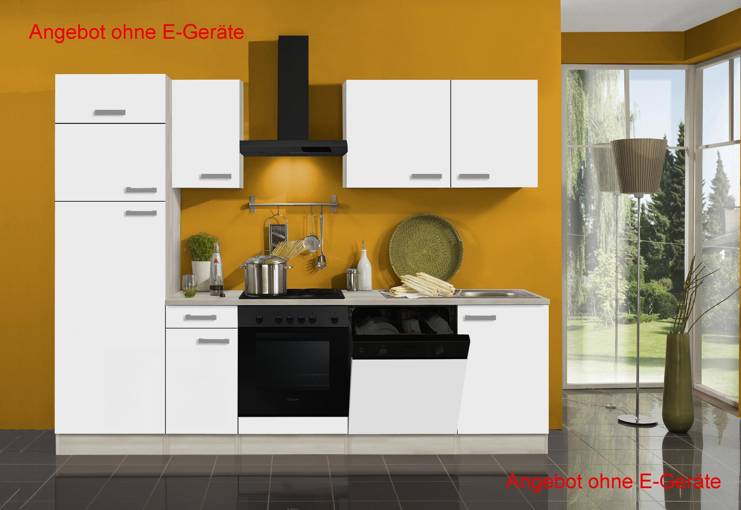 Küche BARCELONA Küchenzeile Küchenblock Küche ohne