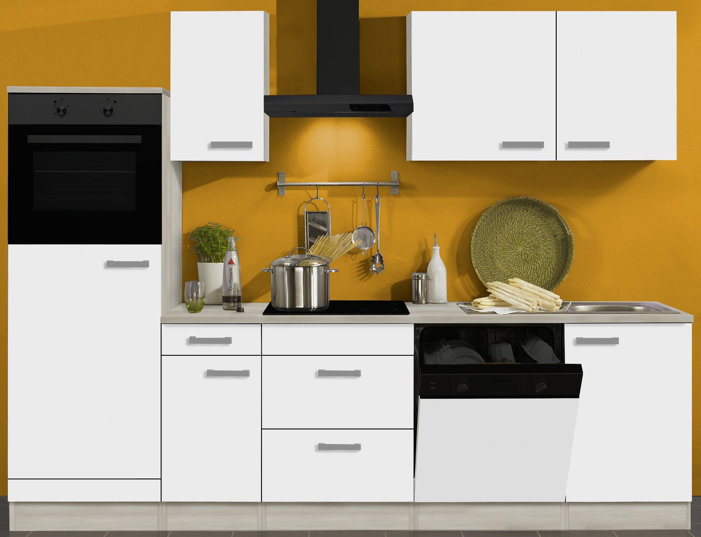 k chenzeile barcelona vario 10 k chen leerblock breite 270 cm wei k che k chenzeilen. Black Bedroom Furniture Sets. Home Design Ideas