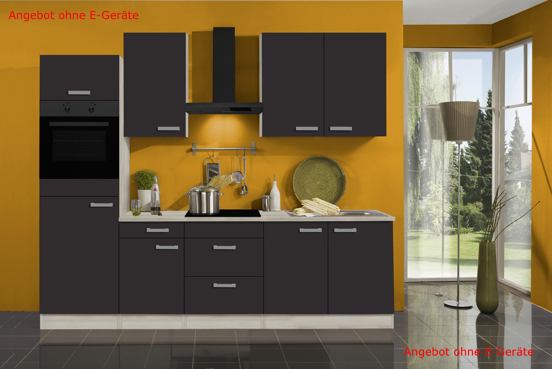k chenzeile barcelona vario 9 k chen leerblock breite 270 cm grau k che k chenzeilen. Black Bedroom Furniture Sets. Home Design Ideas