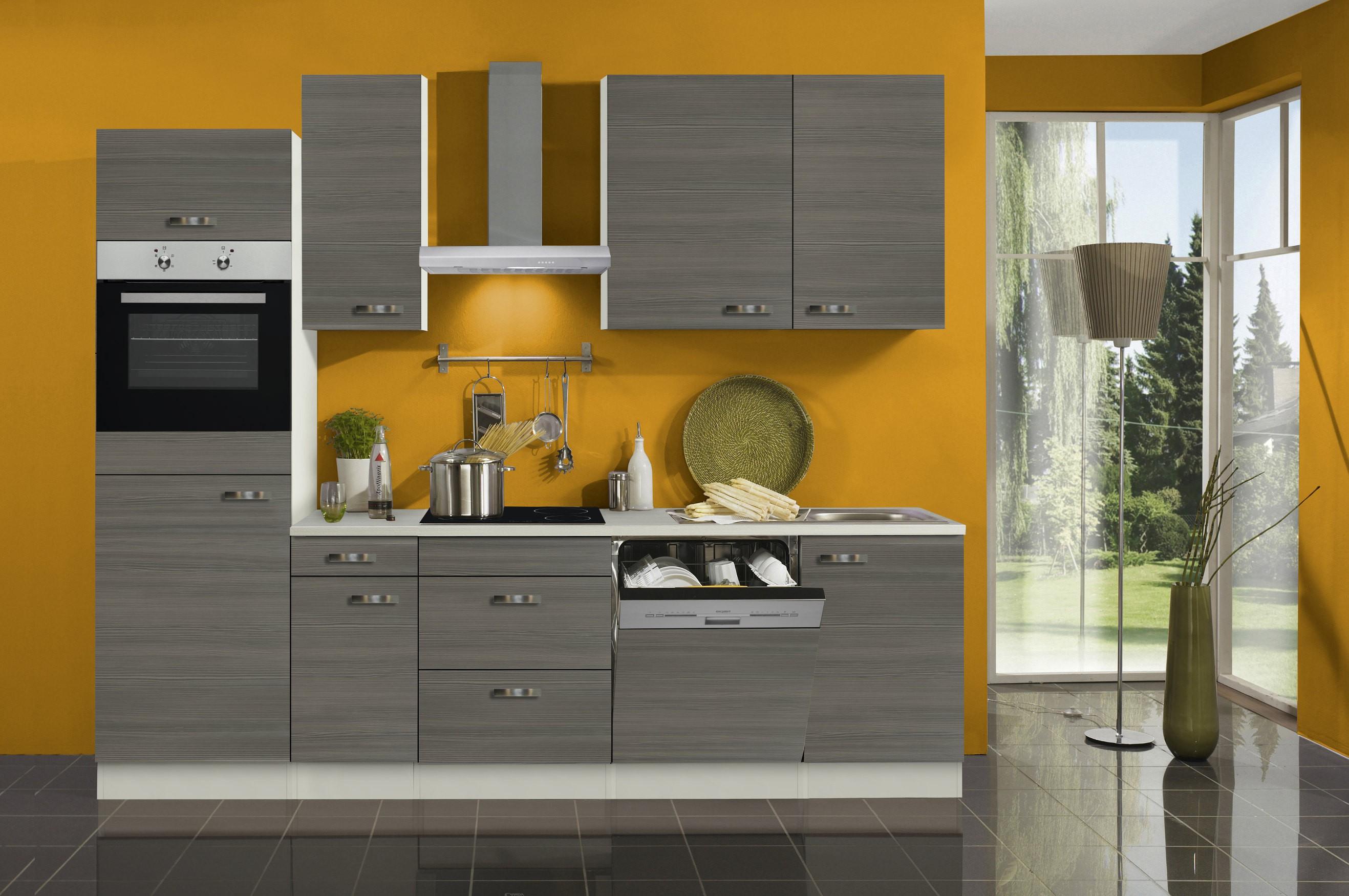 k chenzeile toledo vario 8 k che mit e ger ten breite 270 cm pinie k che k chenzeilen. Black Bedroom Furniture Sets. Home Design Ideas